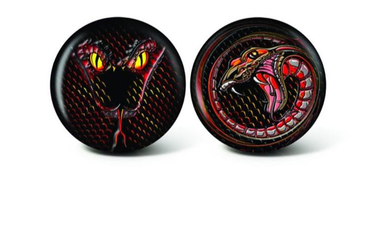 Brunswick Viz a Ball Snake Glow Bowling Ball