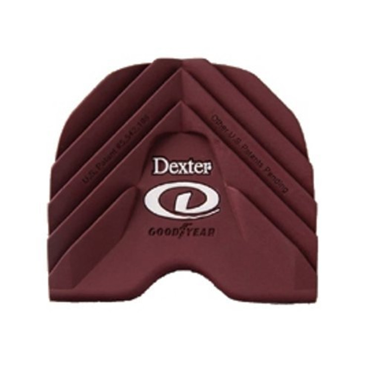 Dexter Replacement Heel #2 Red Ultra Brakz Small