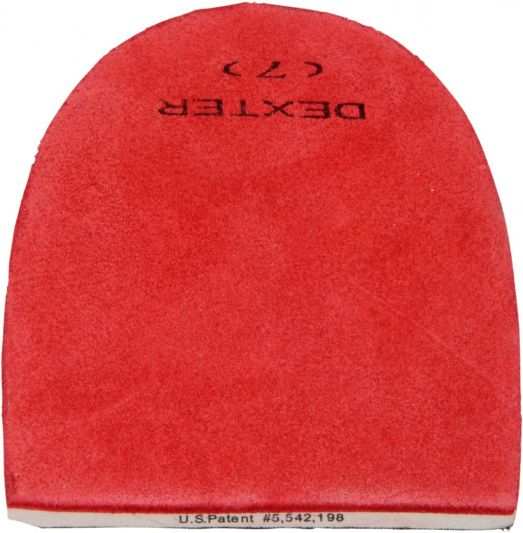 Dexter Replacement Heel #7 Red Leather