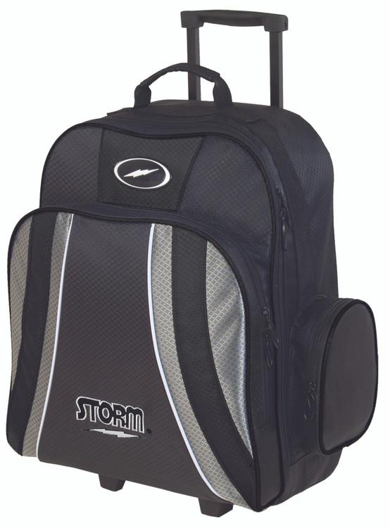 Storm Rascal 1-Ball Roller Bowling Bag Black Silver