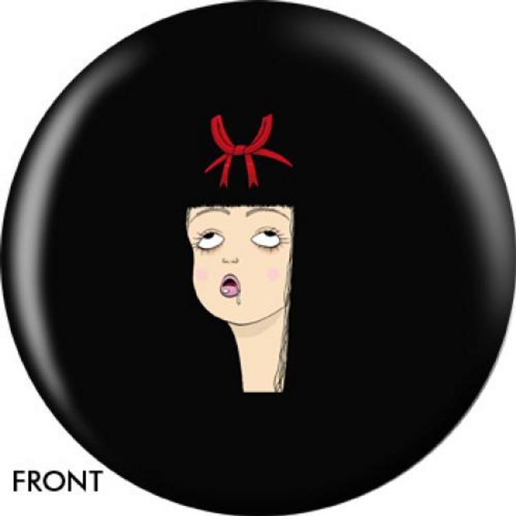 OTB Angel Szafranko Drooling GIrl Bowling ball