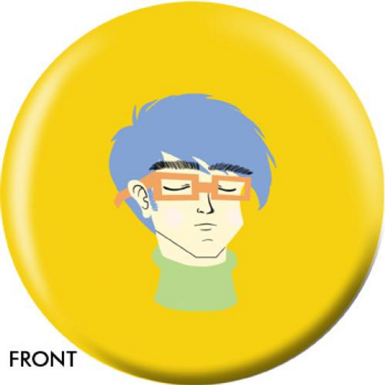 OTB Angel Szafranko Geek Bowling ball