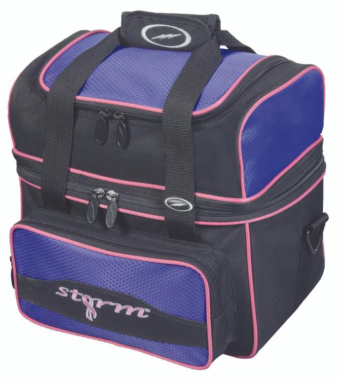 Storm Flip Tote 1 Ball  Bowling Bag Purple
