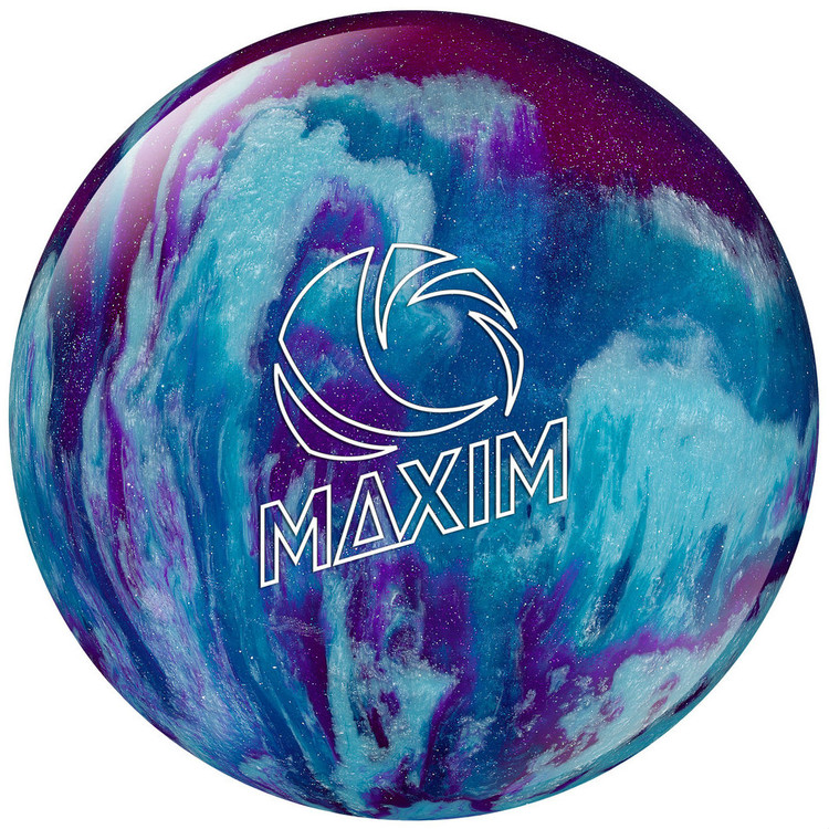 Ebonite Maxim Purple Royal Silver Bowling Ball