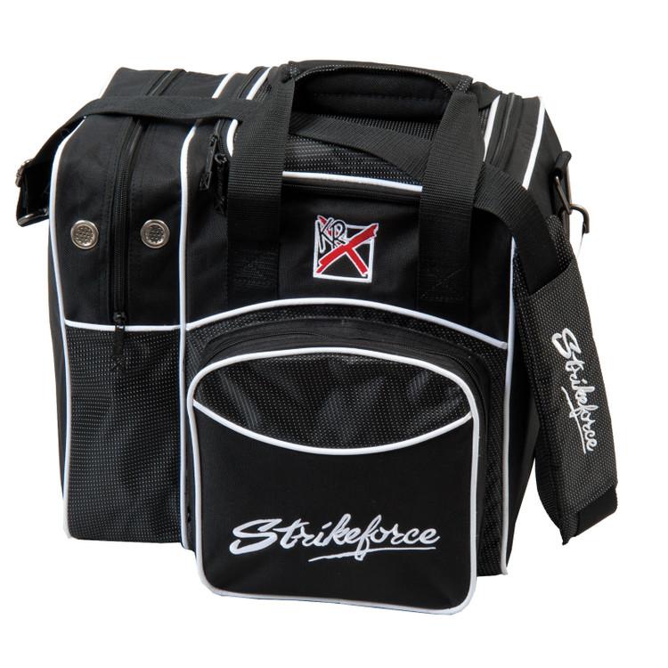 KR Flexx 1 Ball Single Tote Bowling Bag Black