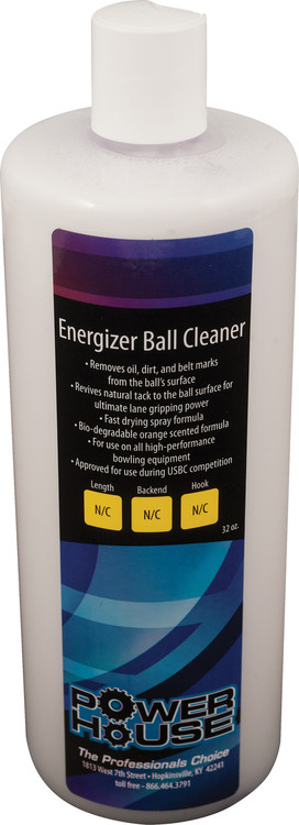 Powerhouse Energizer Bowling Ball Cleaner 32oz