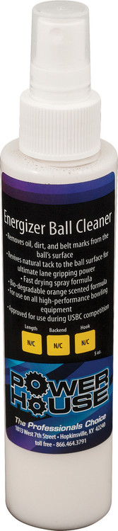 Powerhouse Energizer Bowling Ball Cleaner 5oz