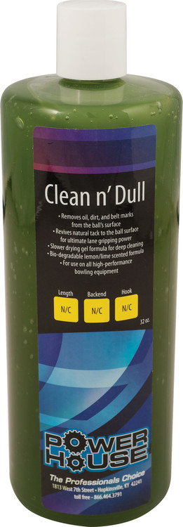 Powerhouse Clean N' Dull Bowling Ball Cleaner 32oz