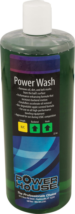 Powerhouse Power Wash Bowling Ball Cleaner 32oz