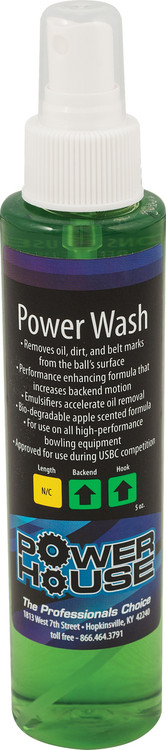 Powerhouse Power Wash Bowling Ball Cleaner 5oz