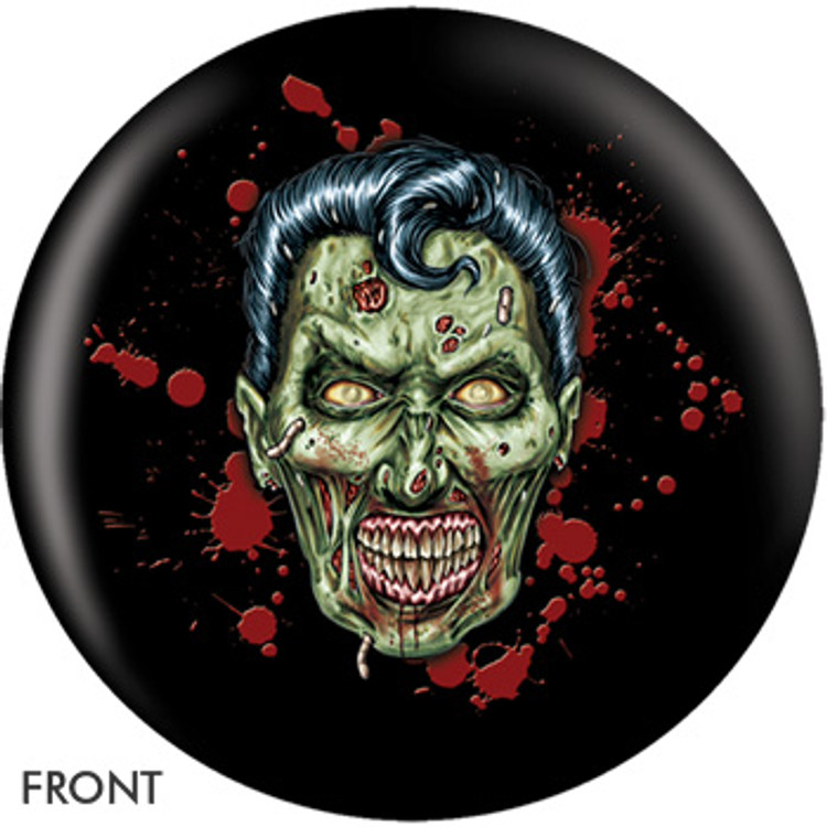 Elvis Zombie Front