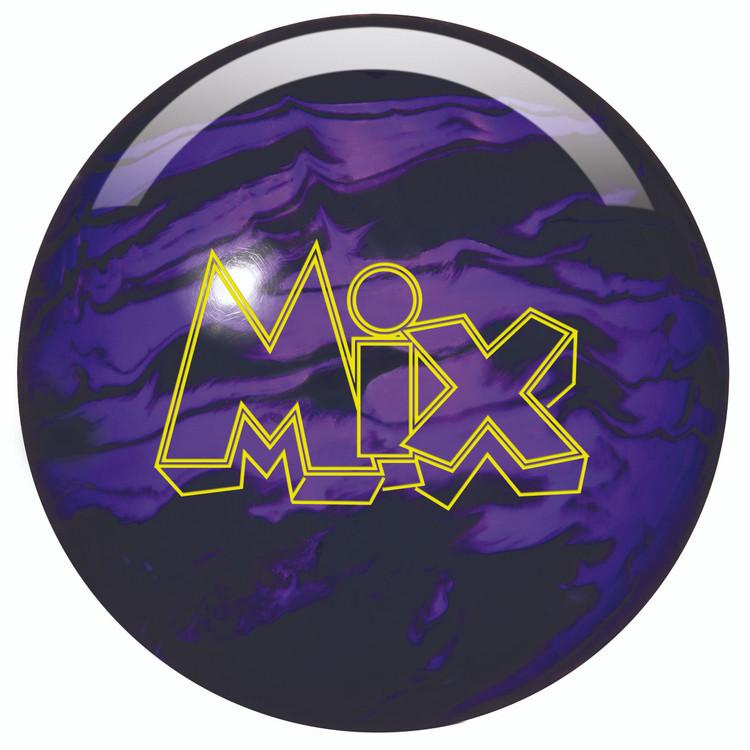 Storm Mix Pearl Bowling Ball Black Purple