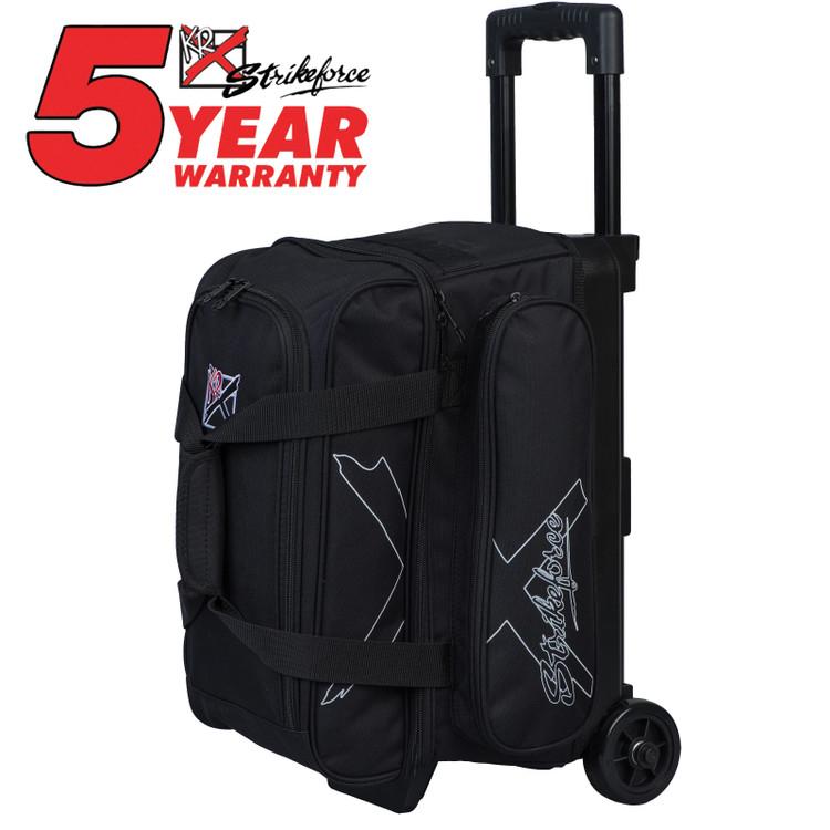 KR Hybrid X 2 Ball Roller Bowling Bag Black