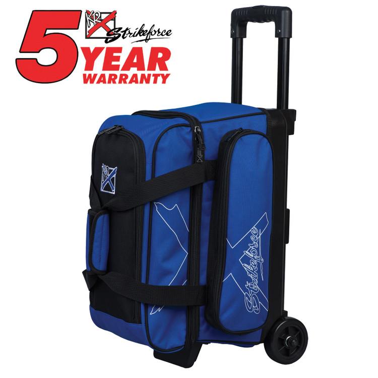 KR Hybrid X 2 Ball Roller Bowling Bag Royal
