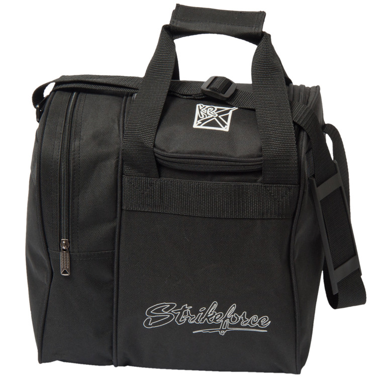 KR Rook Single Tote Bowling Bag Black