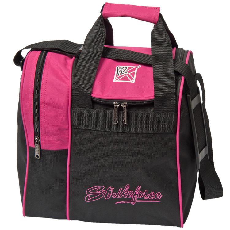 KR Rook Single Tote Bowling Bag Pink