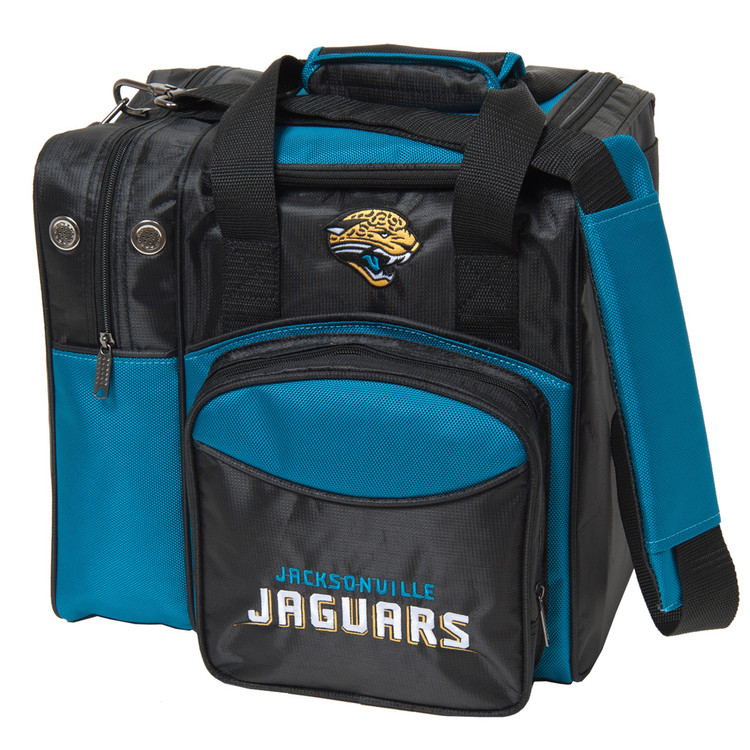 NFL 1 Ball Single Tote Bowling Bag Jacksonville Jaguars