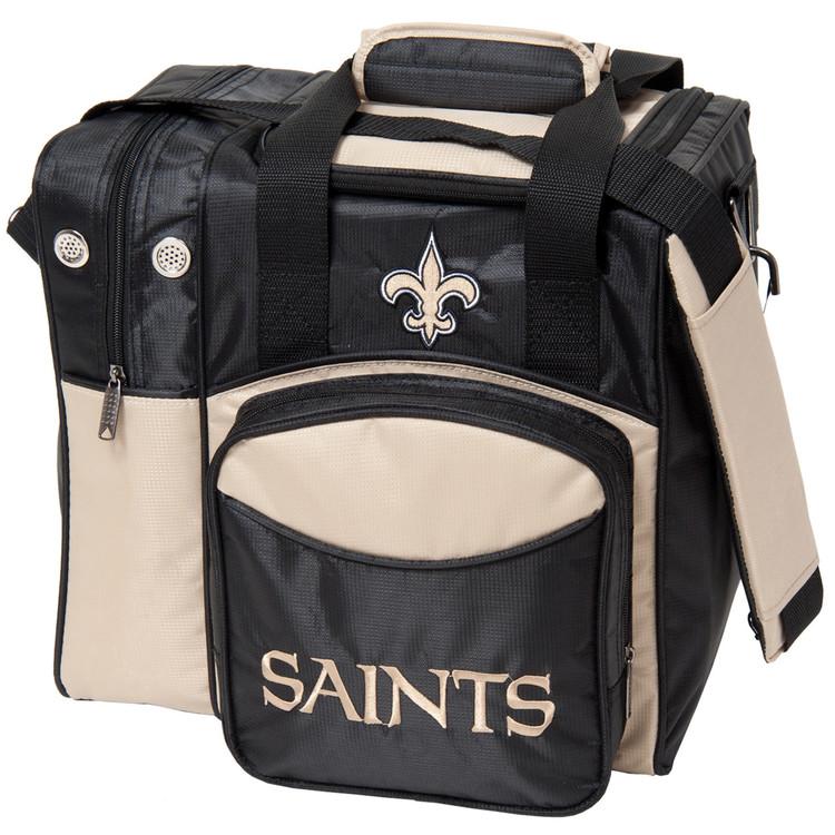 NFL 1 Ball Single Tote Bowling Bag New Orleans Saints