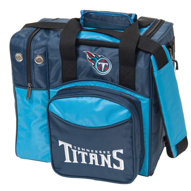NFL 1 Ball Single Tote Bowling Bag Tennessee Titans
