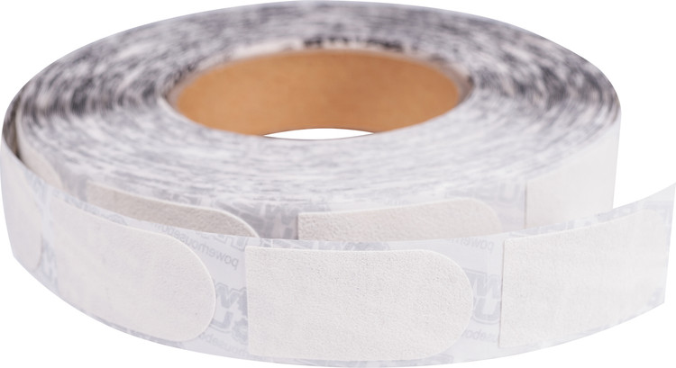 "Powerhouse 1"" White Bowler's Tape 500 Roll"