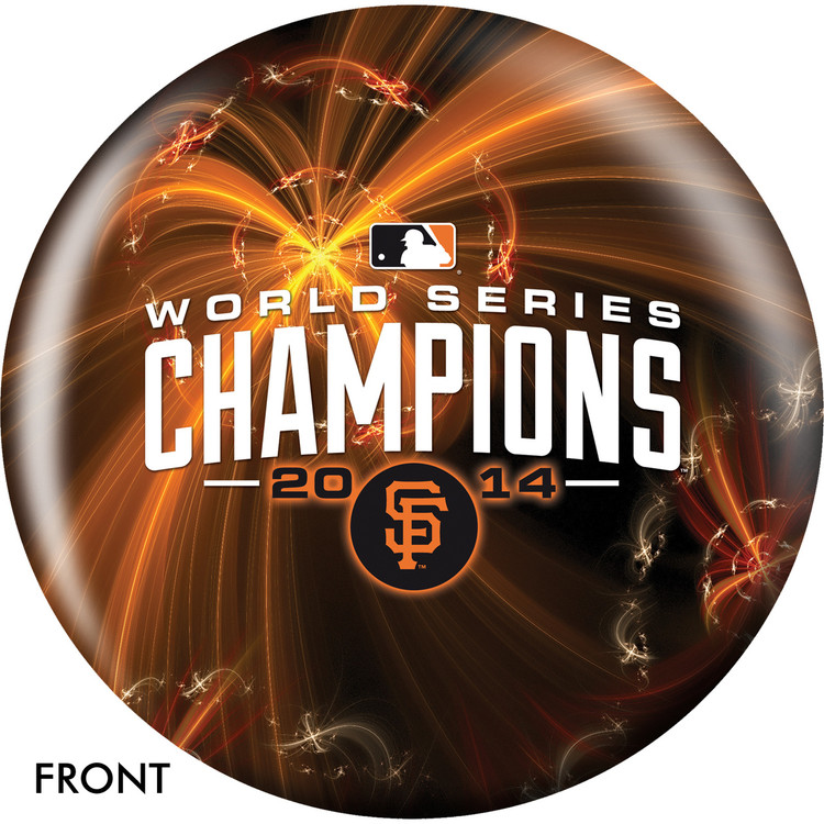 MLB San Francisco Giants World Series Champions 2014 Bowling Ball