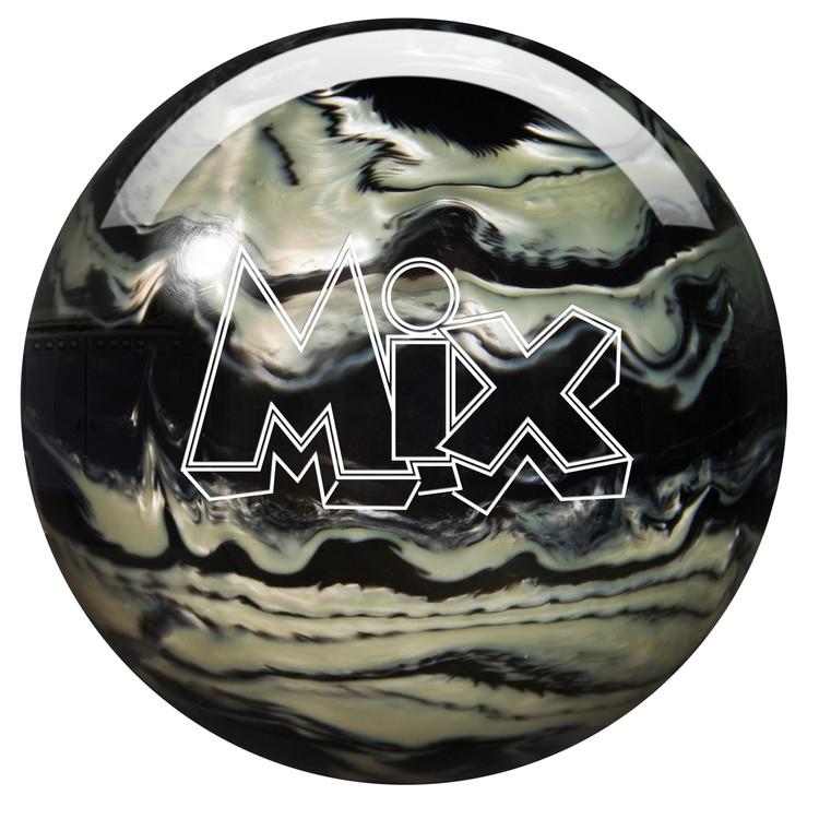 Storm Mix Pearl Bowling Ball Black Silver