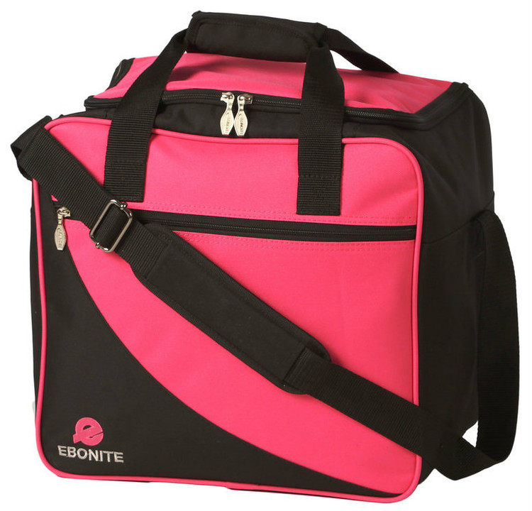 Ebonite Basic Single Tote Bowling Bag Pink