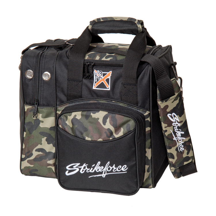 KR Flexx 1 Ball Single Tote Bowling Bag Camo