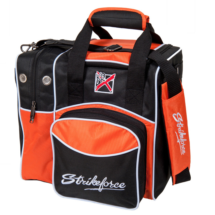 KR Flexx 1 Ball Single Tote Bowling Bag Orange
