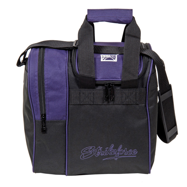 KR Rook Single Tote Bowling Bag Purple