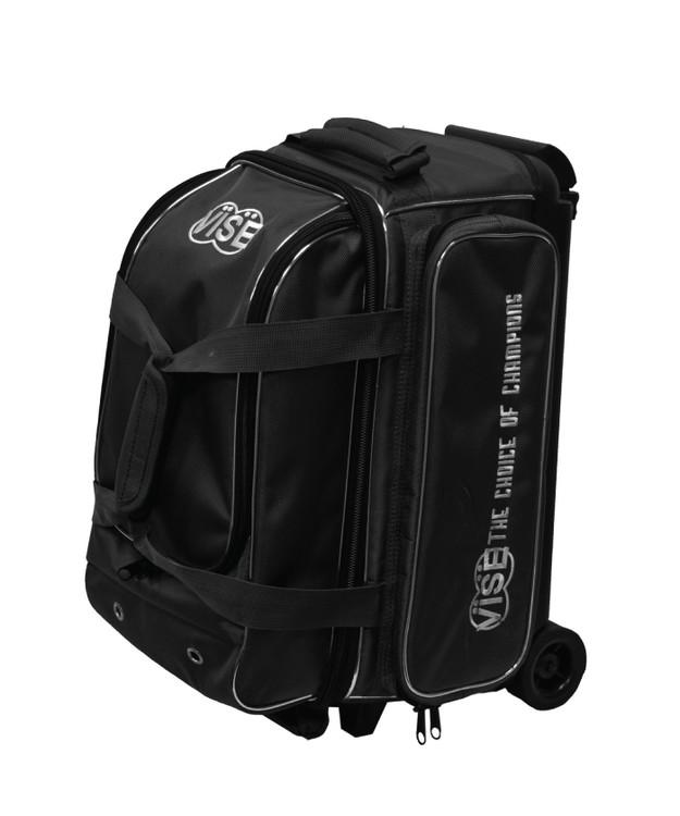 Vise 2 Ball Economy Roller Bowling Bag Black