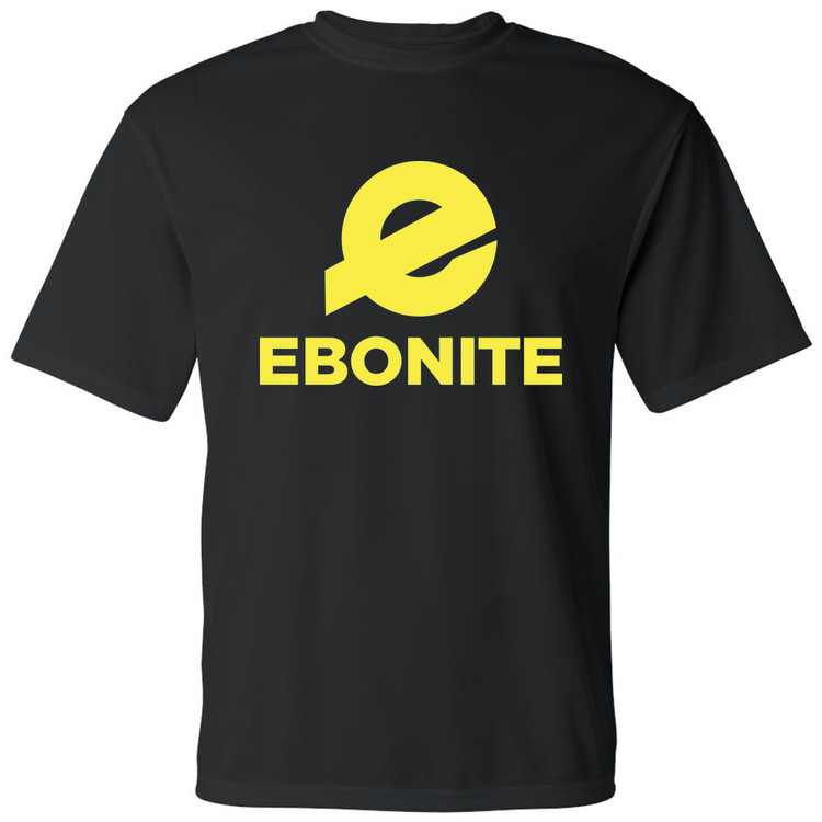Ebonite Forward Mens Performance Tee Yellow