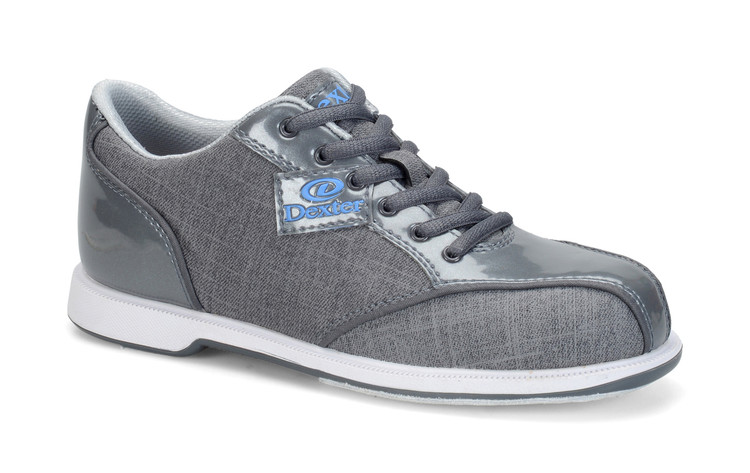 Dexter Ana Women's Bowling Shoes Grey side view
