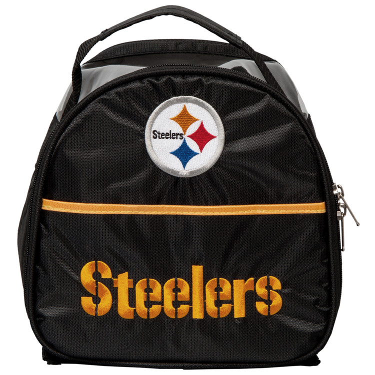 NFL Add On 1 Ball Single Tote Bowling Bag Pittsburgh Steelers