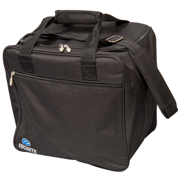 Ebonite Basic Single Tote Bowling Bag Black