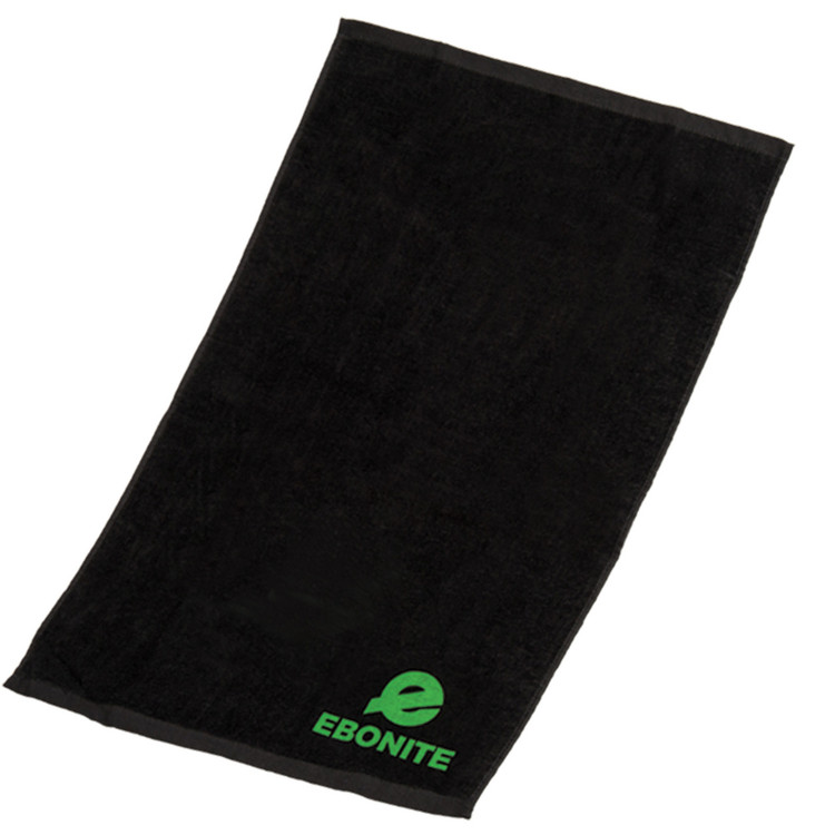 Ebonite Solid Cotton Towel Black