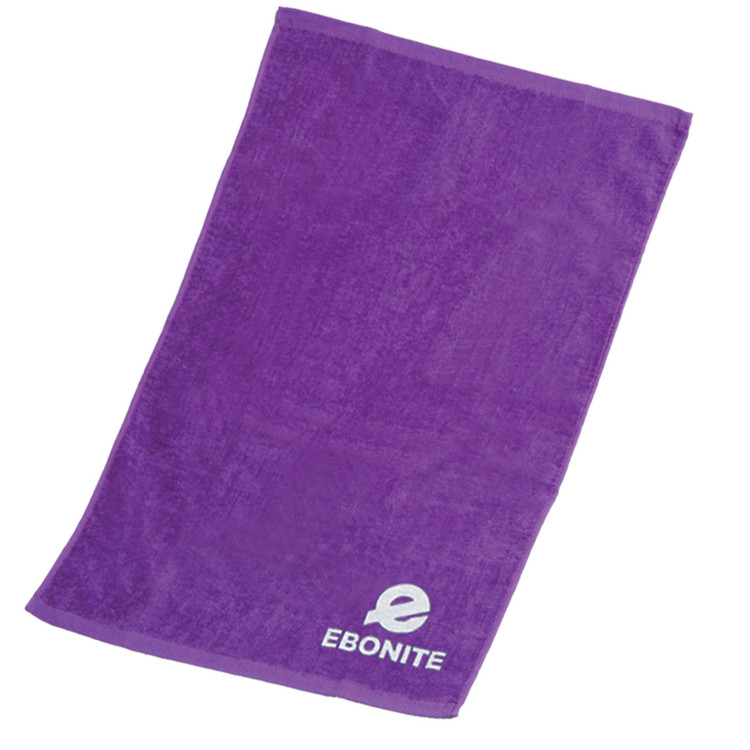 Ebonite Solid Cotton Towel Purple
