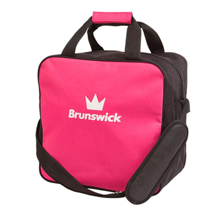 Brunswick TZone 1 Ball Single Tote Bowling Bag Pink