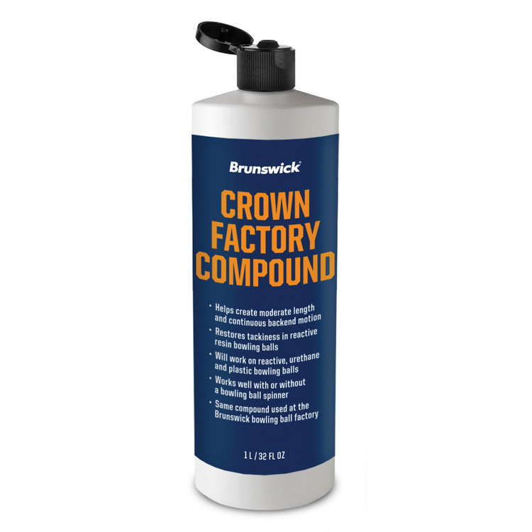 Brunswick Crown Factory Compound 32oz Bottle