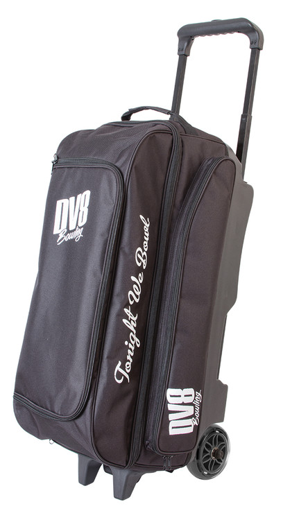 DV8 Freestyle 3 Ball Triple Roller Bowling Bag Black