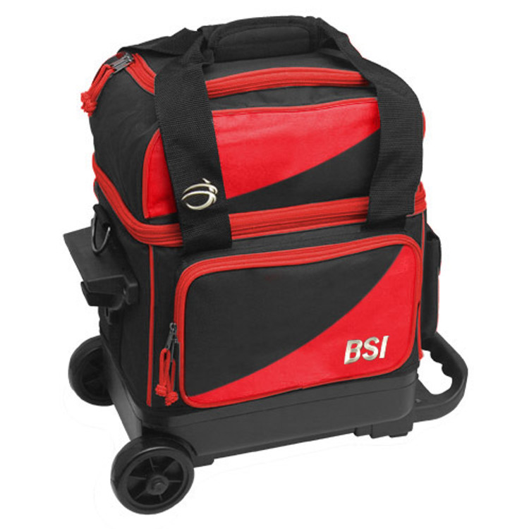 BSI Prestige Single Roller Red Front View