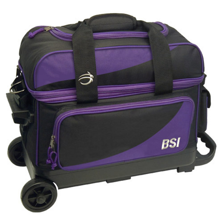 BSI Prestige Double Roller Purple Front View