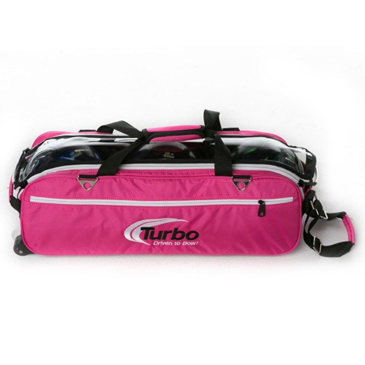 Turbo Express Tote Front View in Pink