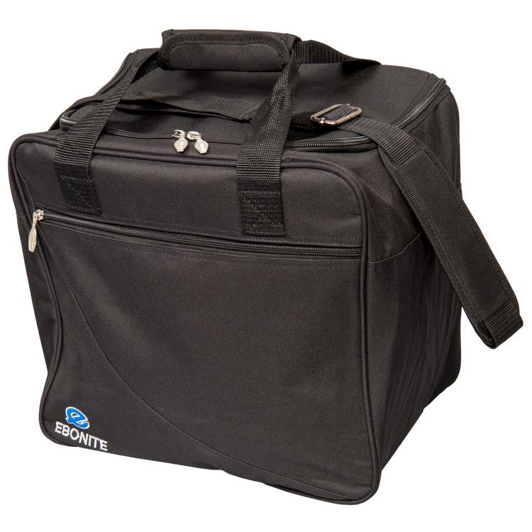 Ebonite Escort Single Tote Bowling Bag Black