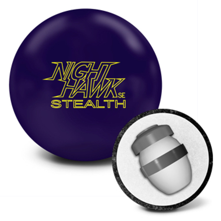 AMF 300 Night Hawk SE Stealth Bowling Ball