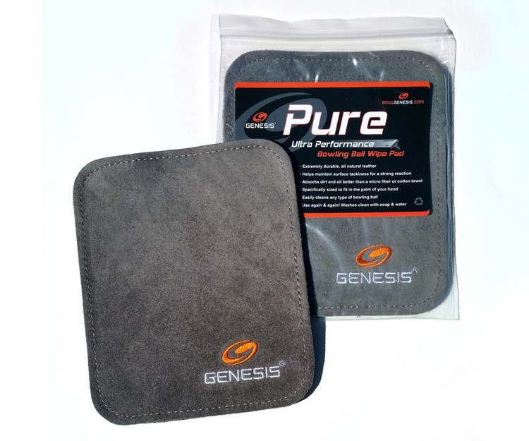 Genesis Pure Pad Buffalo Leather Ball Wipe