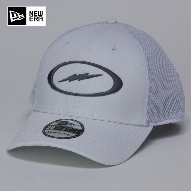 Storm Bolt Hat White/Gray
