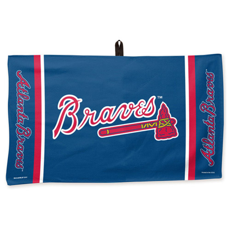 New Master MLB Bowling Towel Atlanta Braves