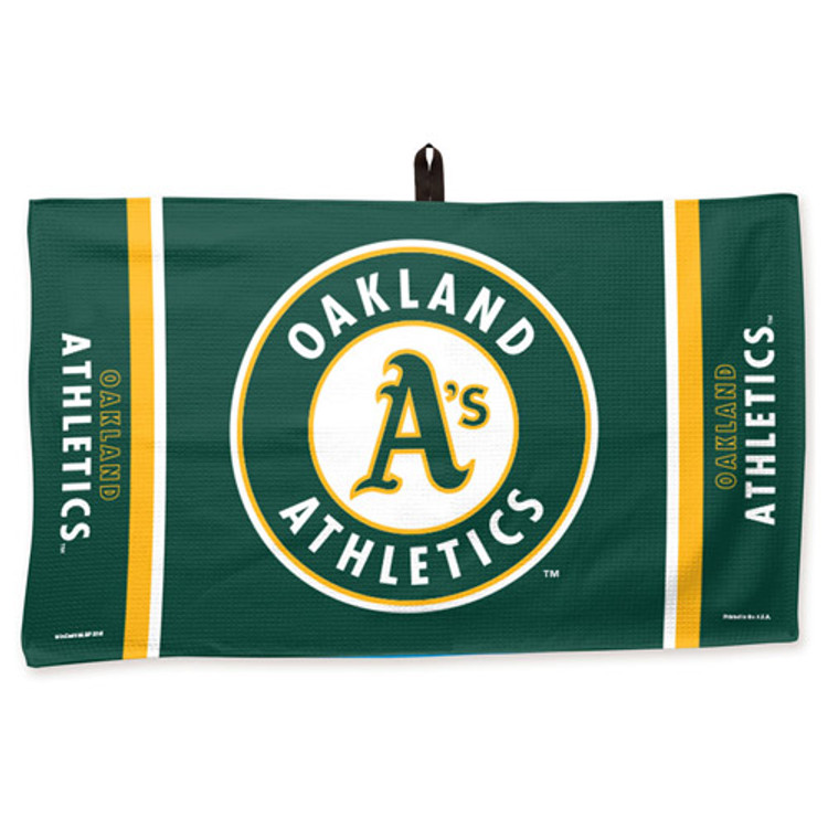 New Master MLB Bowling Towel Oakland Athletics