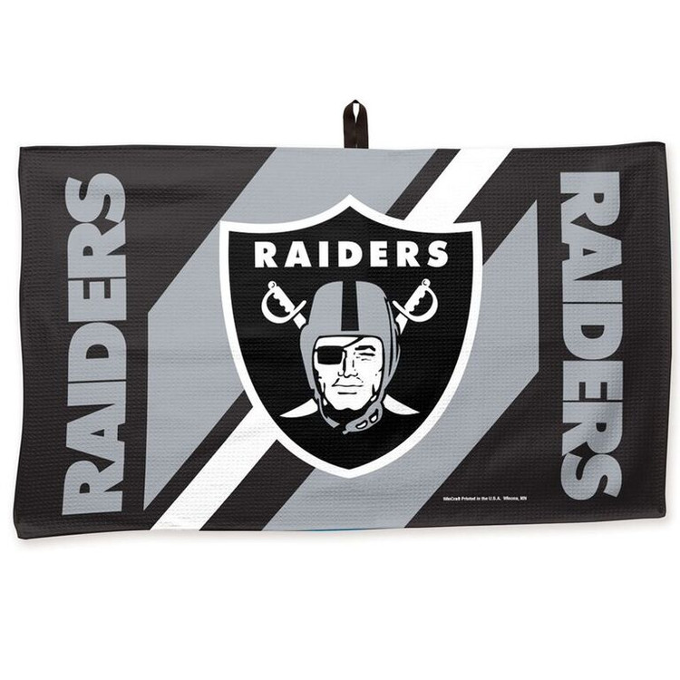 Master NFL Bowling Towel Oakland Raiders